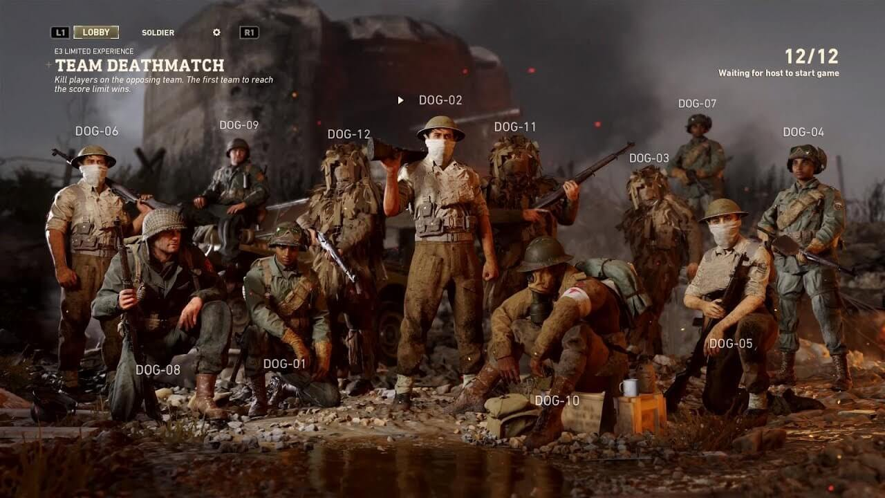 Call of Duty WWII - Multiplayer