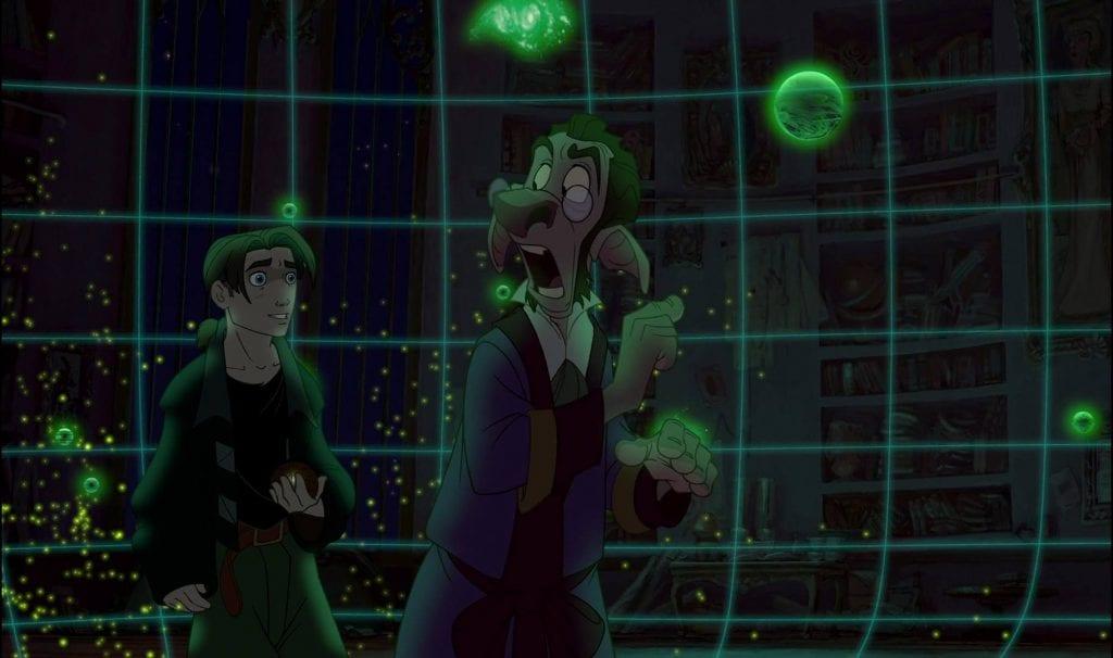 Jim Hawekins, Dobbler, Treasure Planet