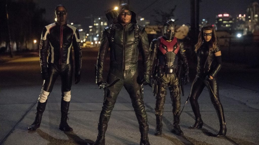 Diggle, Curtis, Dinah, Rene, Arrow season 6