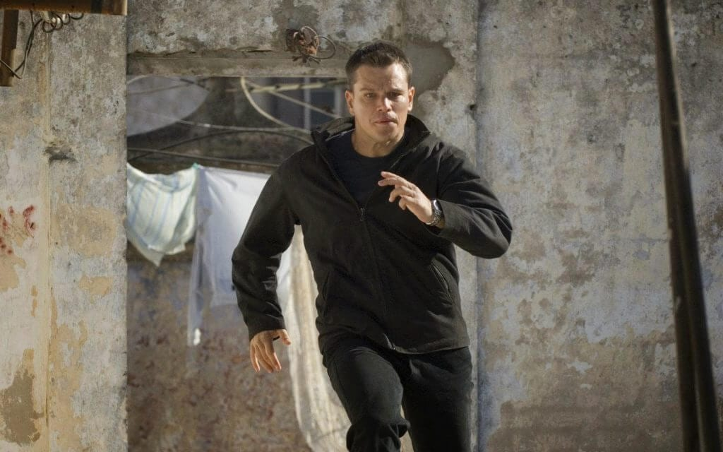 Matt Damon, The Bourne Ultimatum, action films