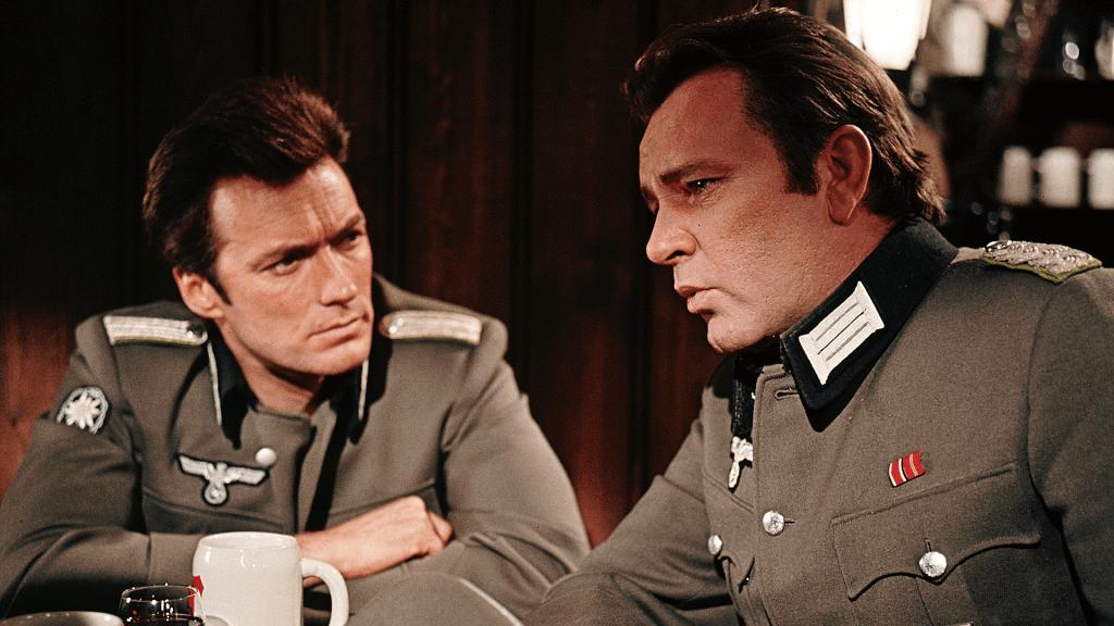 Clint Eastwood, Richard Burton, Where Eagles Dare