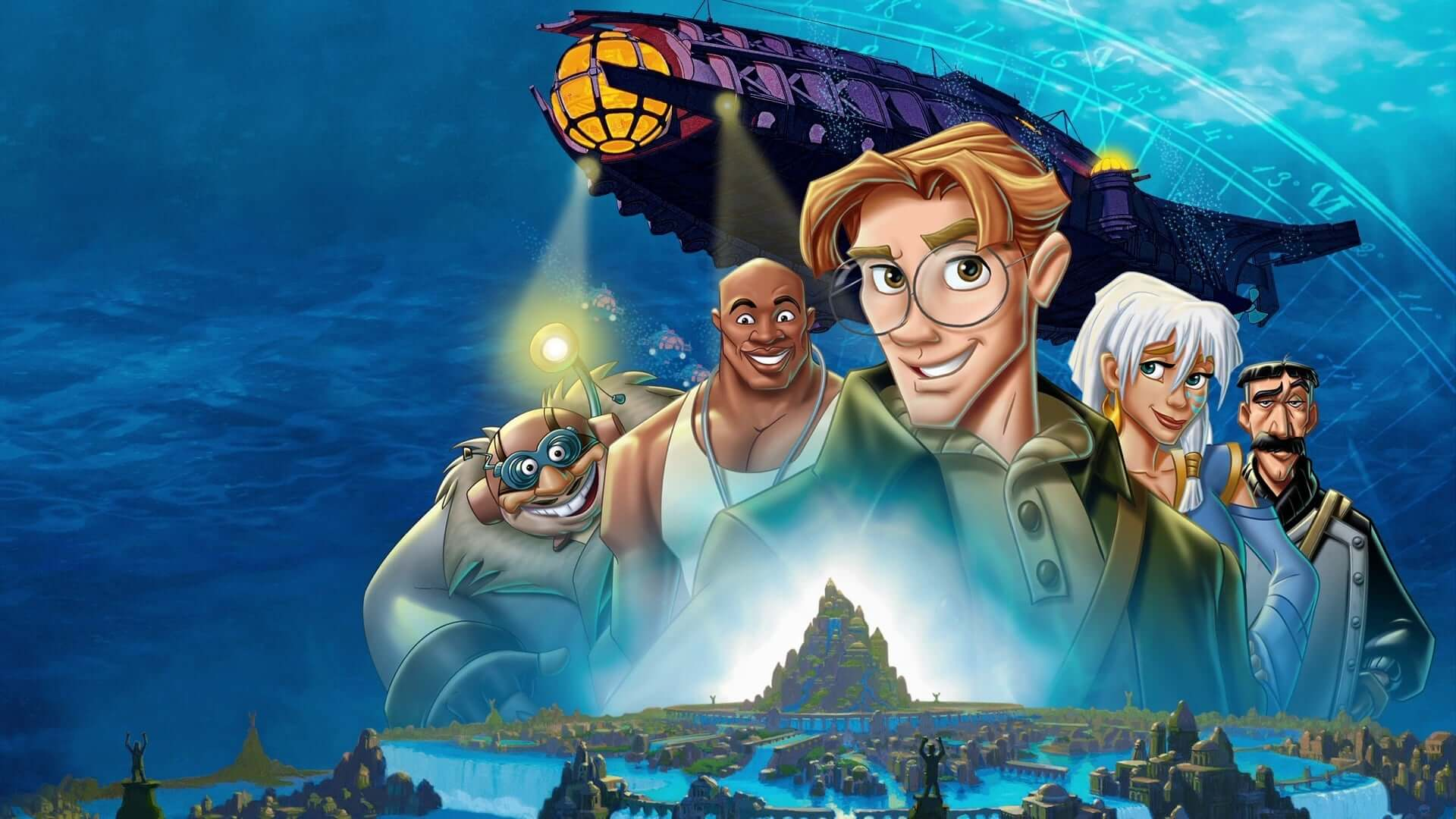 Review Atlantis The Lost Empire 2001 Geeks Gamers