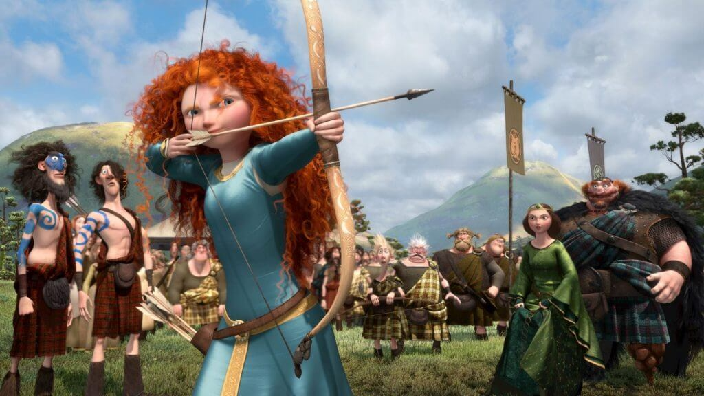 Merida, Brave, Disney Princesses