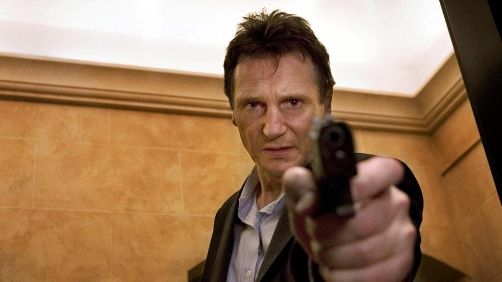 Liam Neeson, Taken, action films