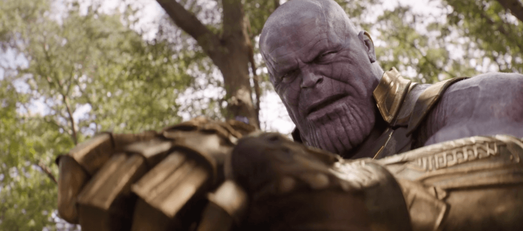 Thanos, Avengers: Infinity War, comic book callbacks
