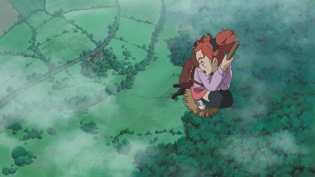 Mary, little broomstick, Mary and the Witch's Flower