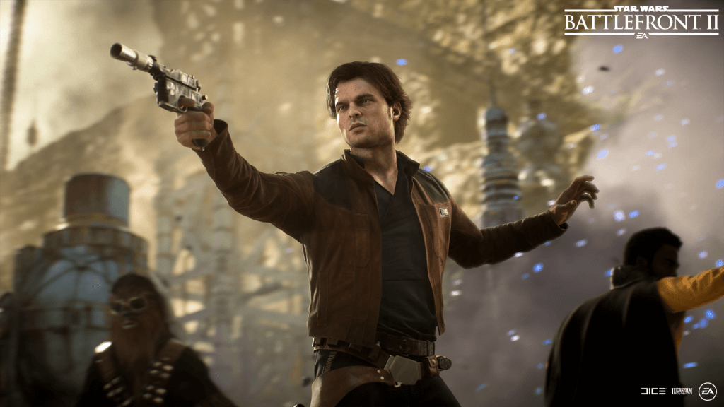 Star Wars: Battlefront II, Solo Season, Han Solo, Chewbacca, Lando