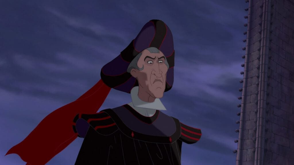 Frollo, The Hunchback of Notre Dame
