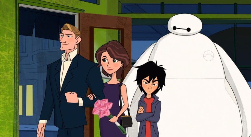 Big Hero 6, Aunt Cass Goes Out, The Impatient Patient, Cass, Krei, Hiro, Baymax