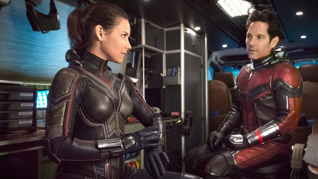 Ant-Man and the Wasp, Scott Lang, Paul Rudd, Hope van Dyne, Evangeline Lily