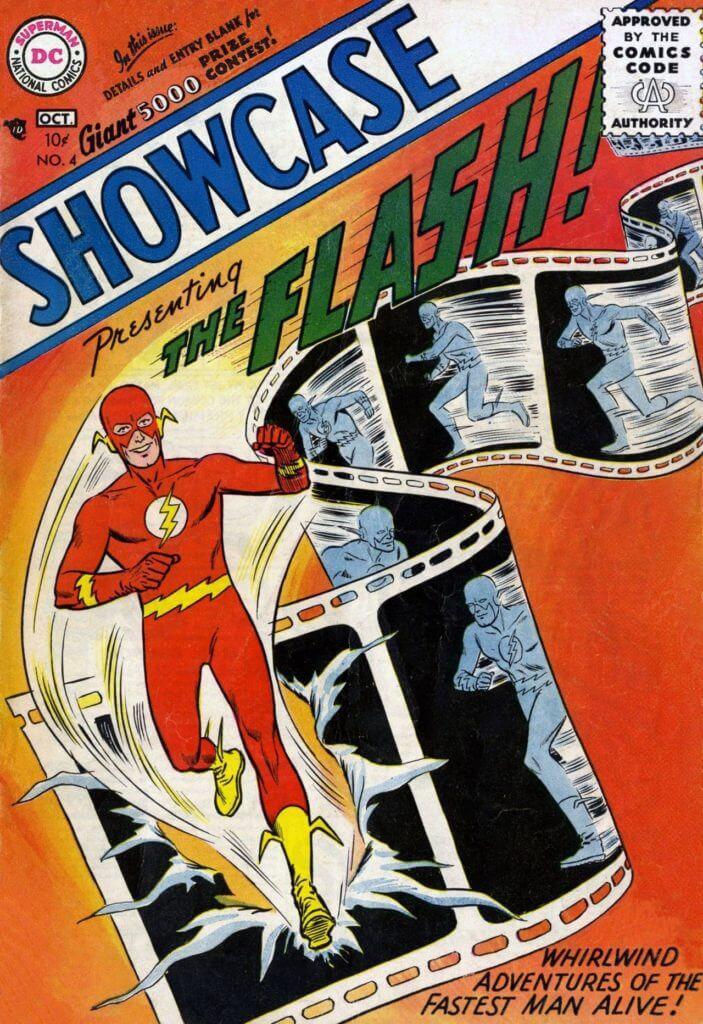 The Flash, Barry Allen, first appearance,