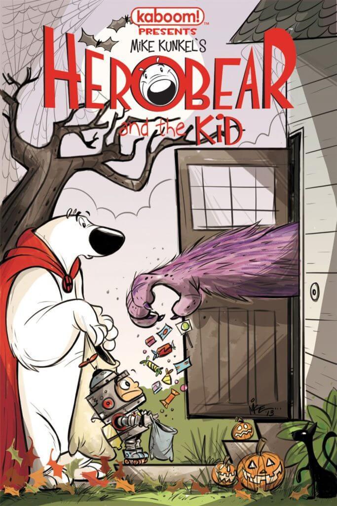 Herobear and the Kid, Comic Books, kid-friendly