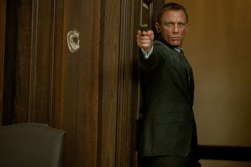 Danny Boyle, James Bond, Danile Craig