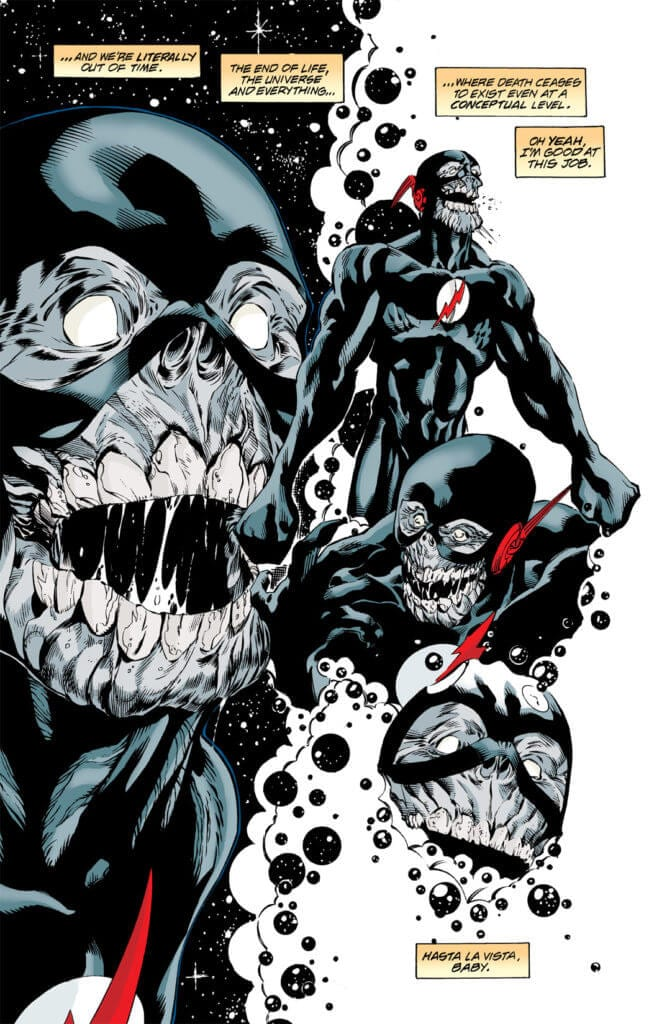 the Flash, Black Flash, feats of speed
