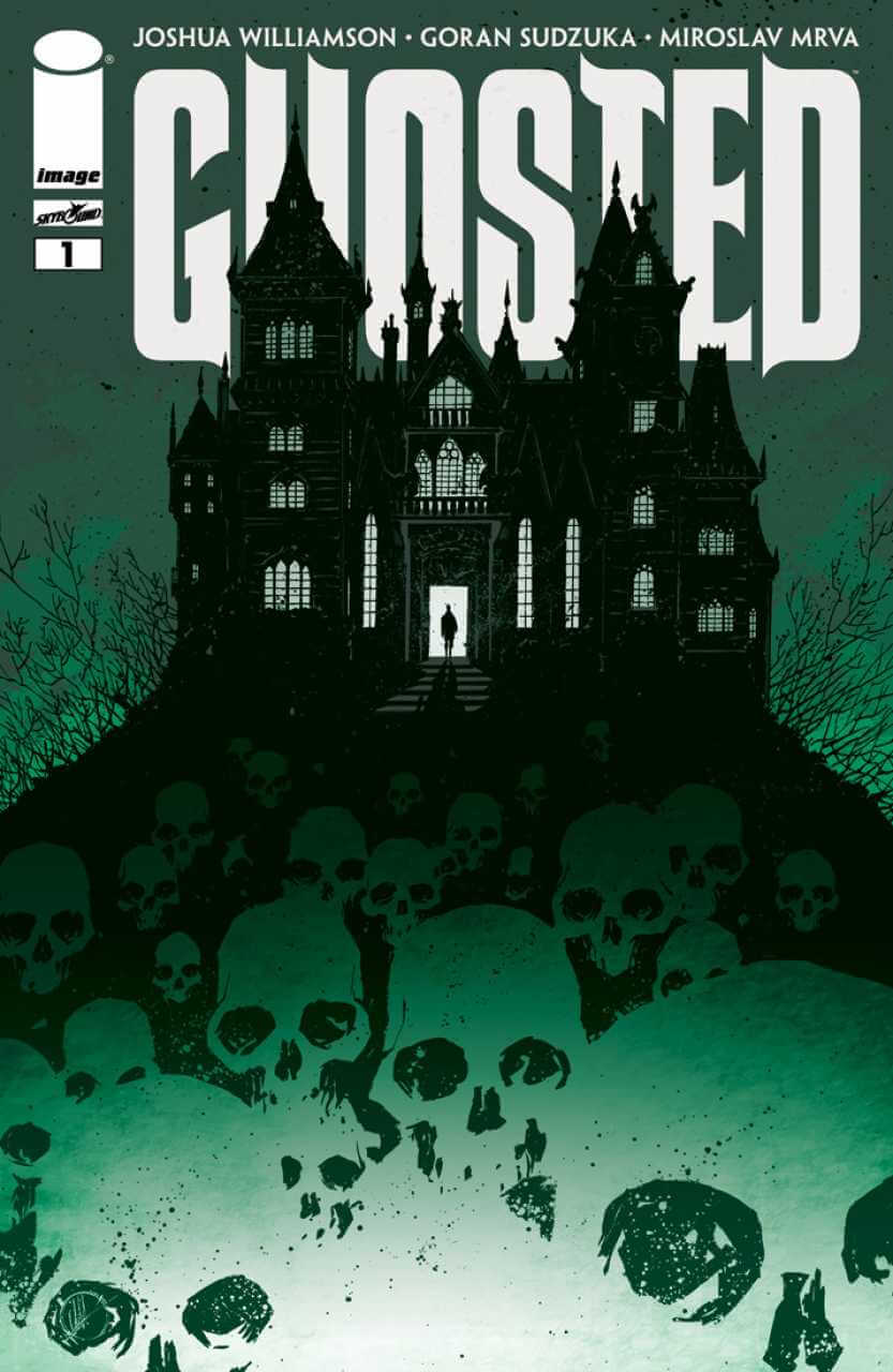 Ghosted, horror comic books