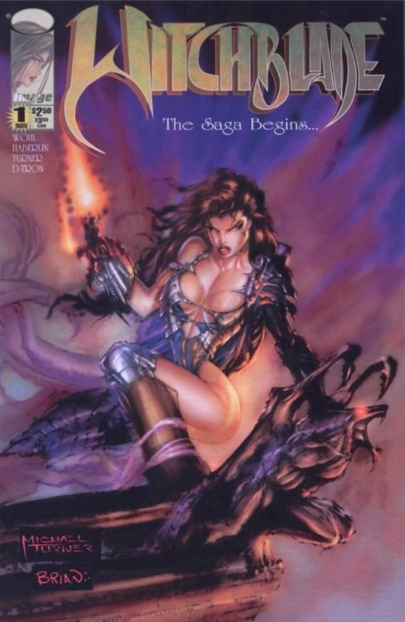 Witchblade, horror comic books
