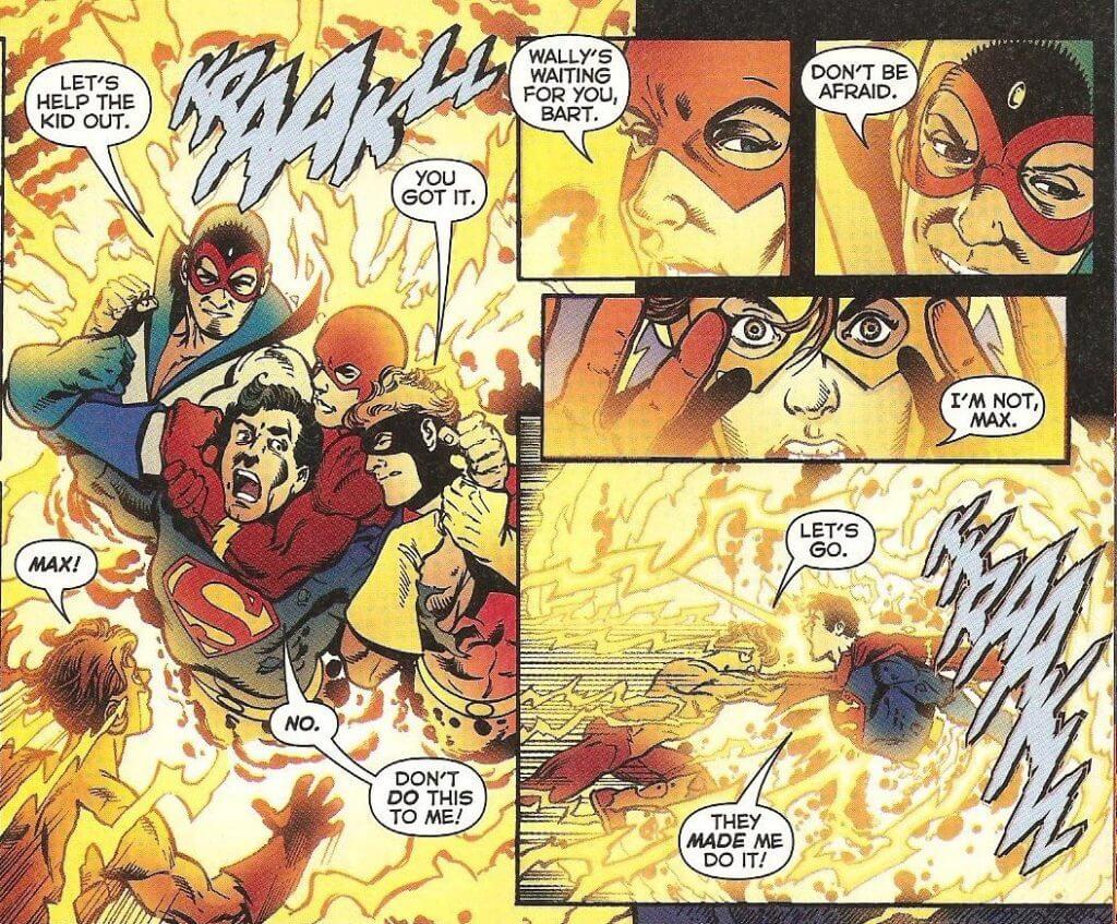 The Flash, Crisis