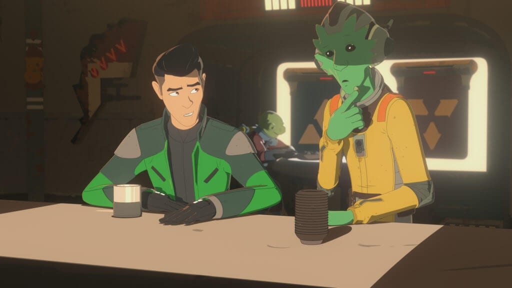 Star Wars Resistance, The Children From Tehar