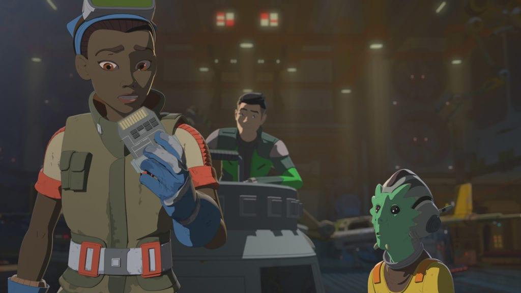Star Wars Resistance, Synara's Score
