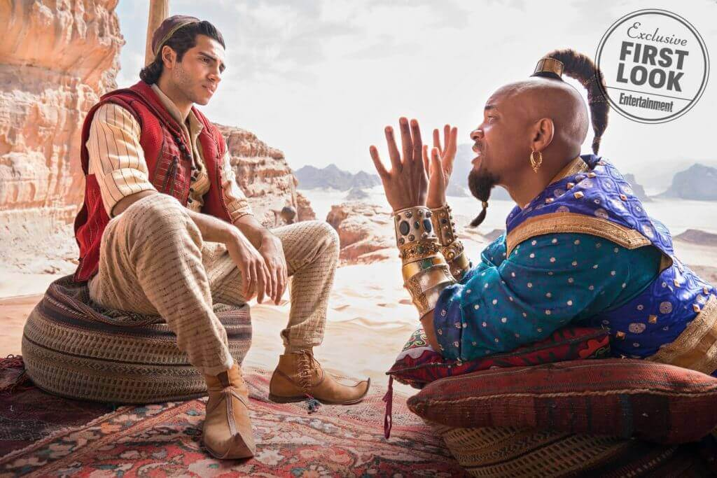 Aladdin remake, Will Smith, Genie