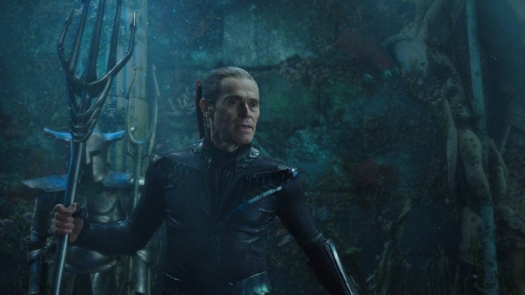 Willem Dafoe, Aquaman, Justice League Snyder cut