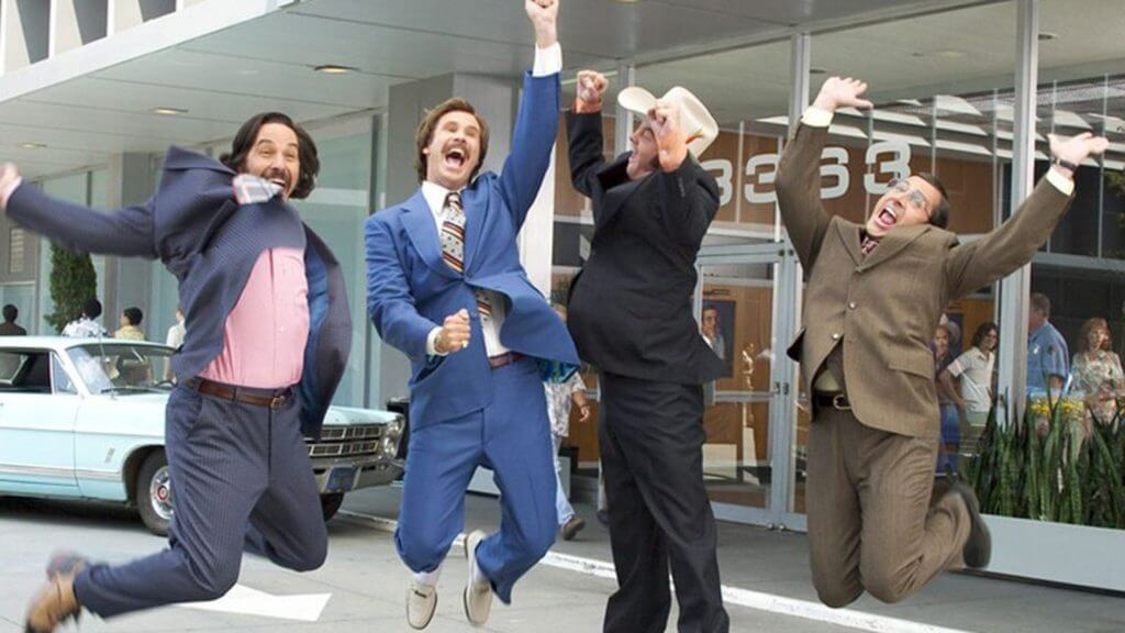 Anchorman podcast