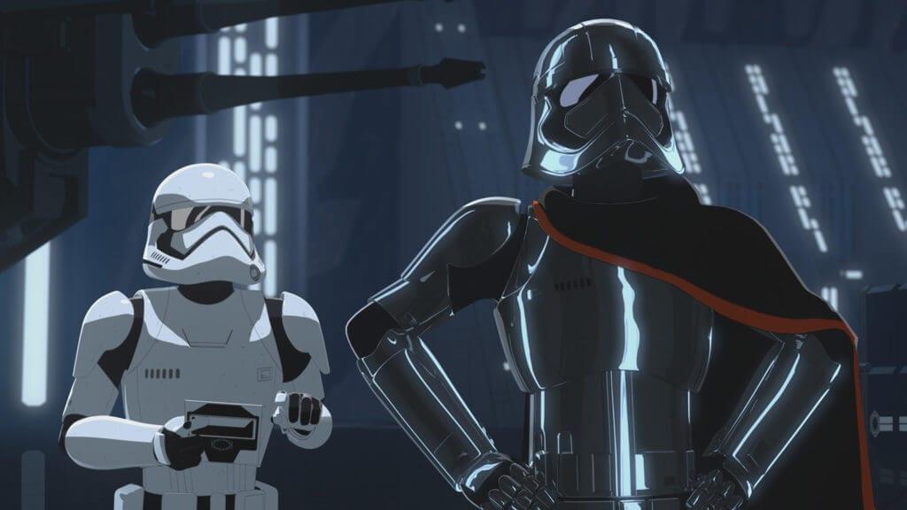 Star Wars Resistance, Station Theta Black, Captain Phasma