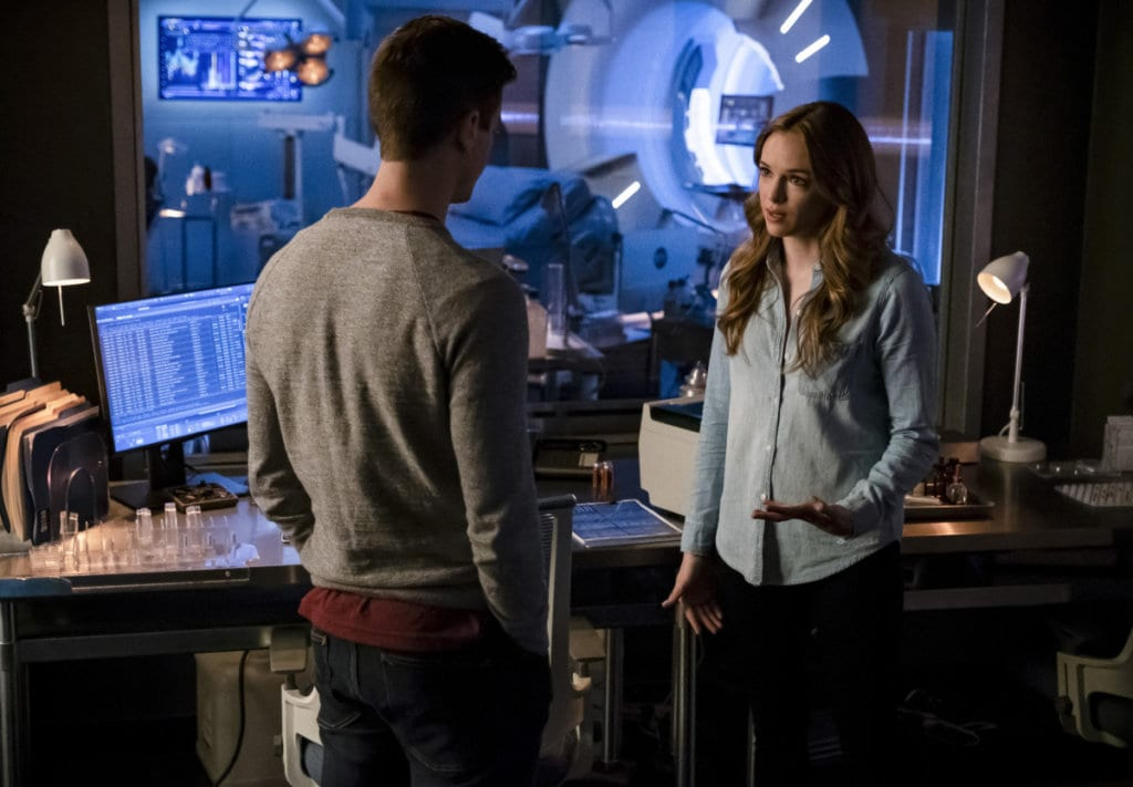 The Flash, Barry, Caitlin