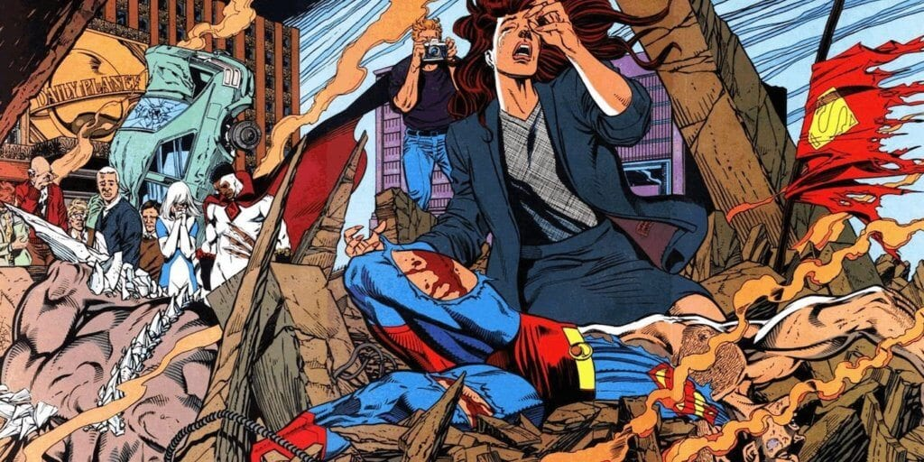 Reign of the Supermen, The Death of Superman