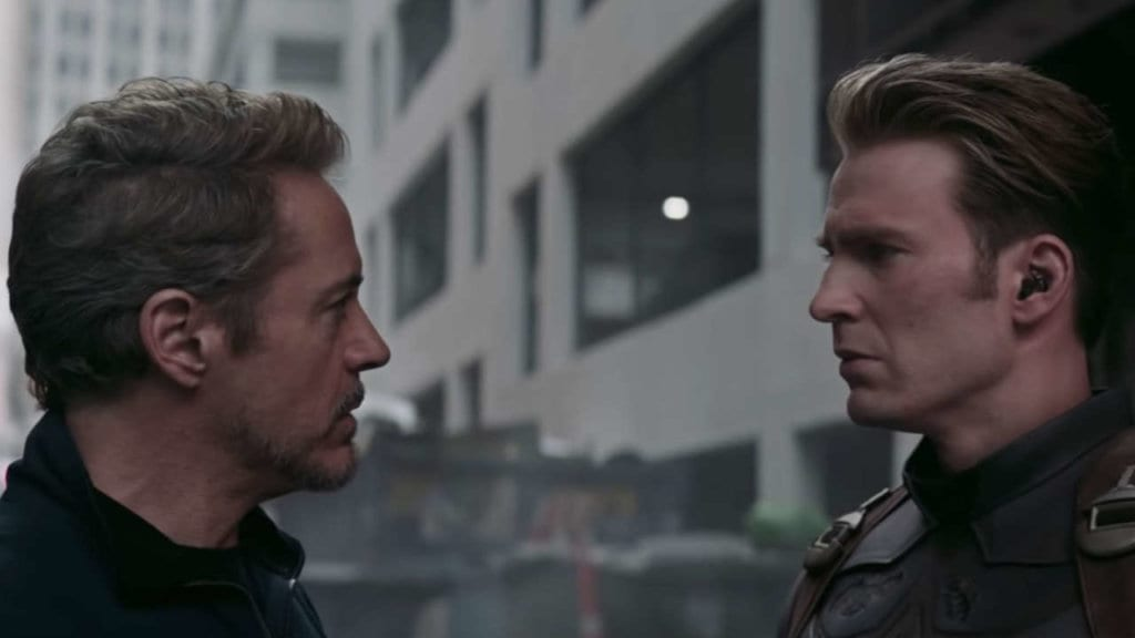 Avengers: Endgame, Cap and Tony