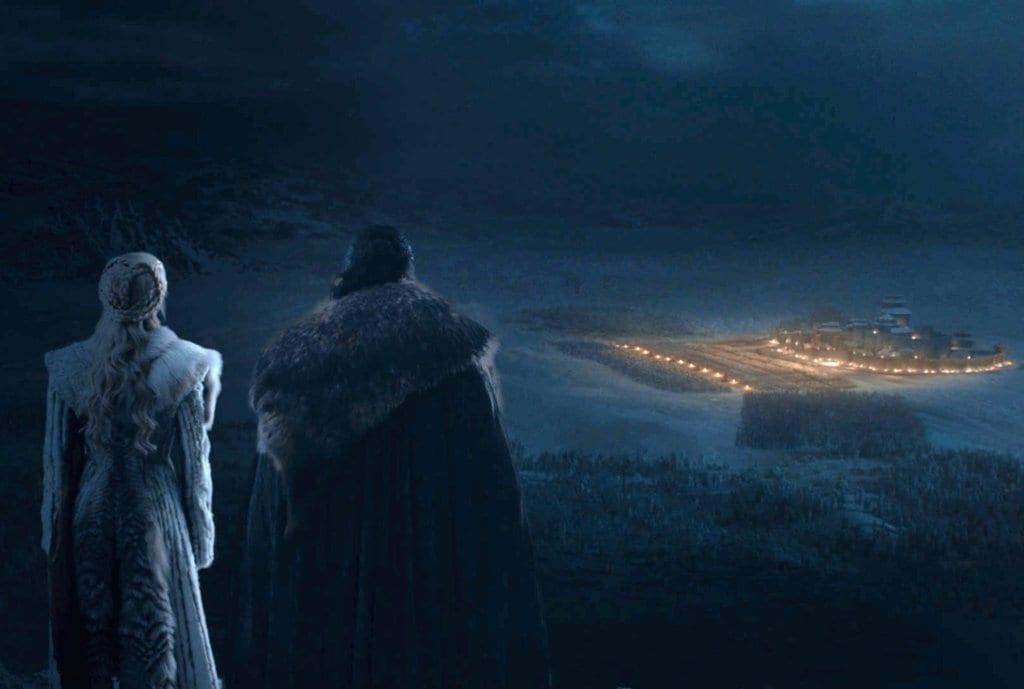 Gane of Thrones, The Long Night