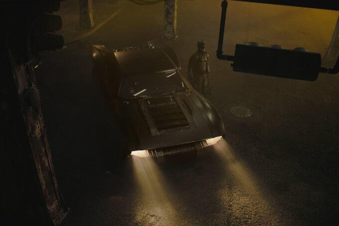 Batmobile, The Batman